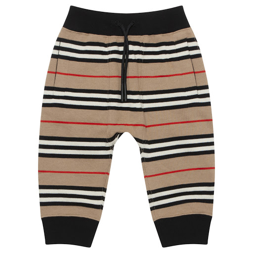 Primary image of Burberry Baby Stripe Joggers