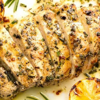 Lemon Rosemary Grilled Chicken Breasts.