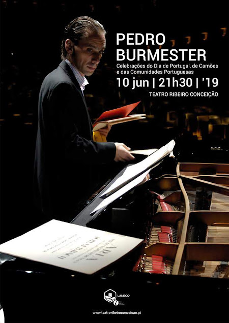 Pedro Burmester sobe ao palco do TRC no Dia de Portugal