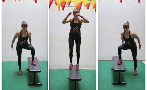 Sensational 7 Leg Exercises Using A Box Pabps2019 Chair Design Images Pabps2019Com