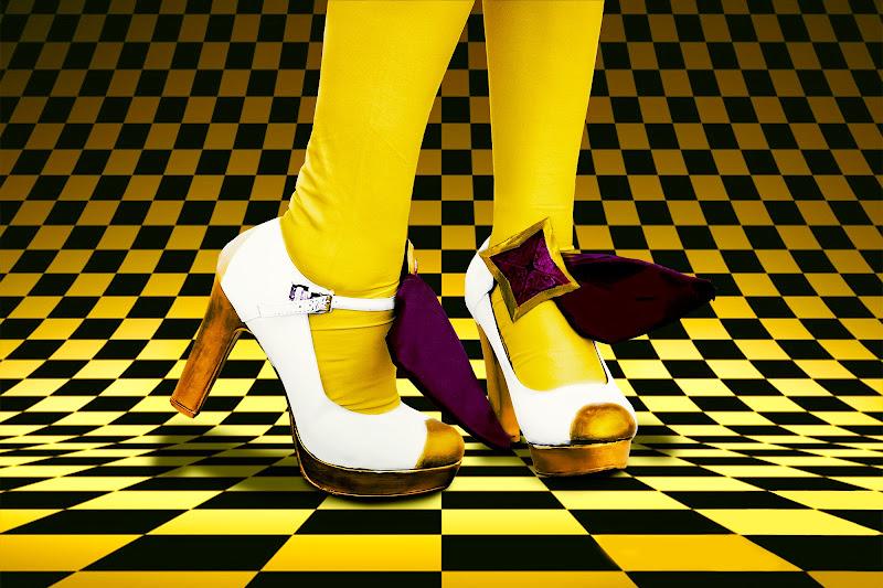 Yellow socks di Heidy