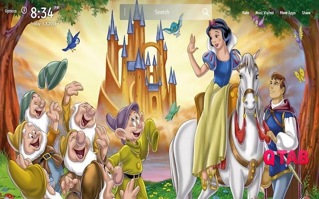 Snow White Wallpapers Theme Movie New Tab