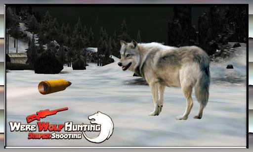 wolf hunter sniper shooting