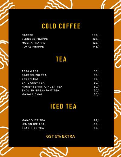 Voyage Cafe menu 2