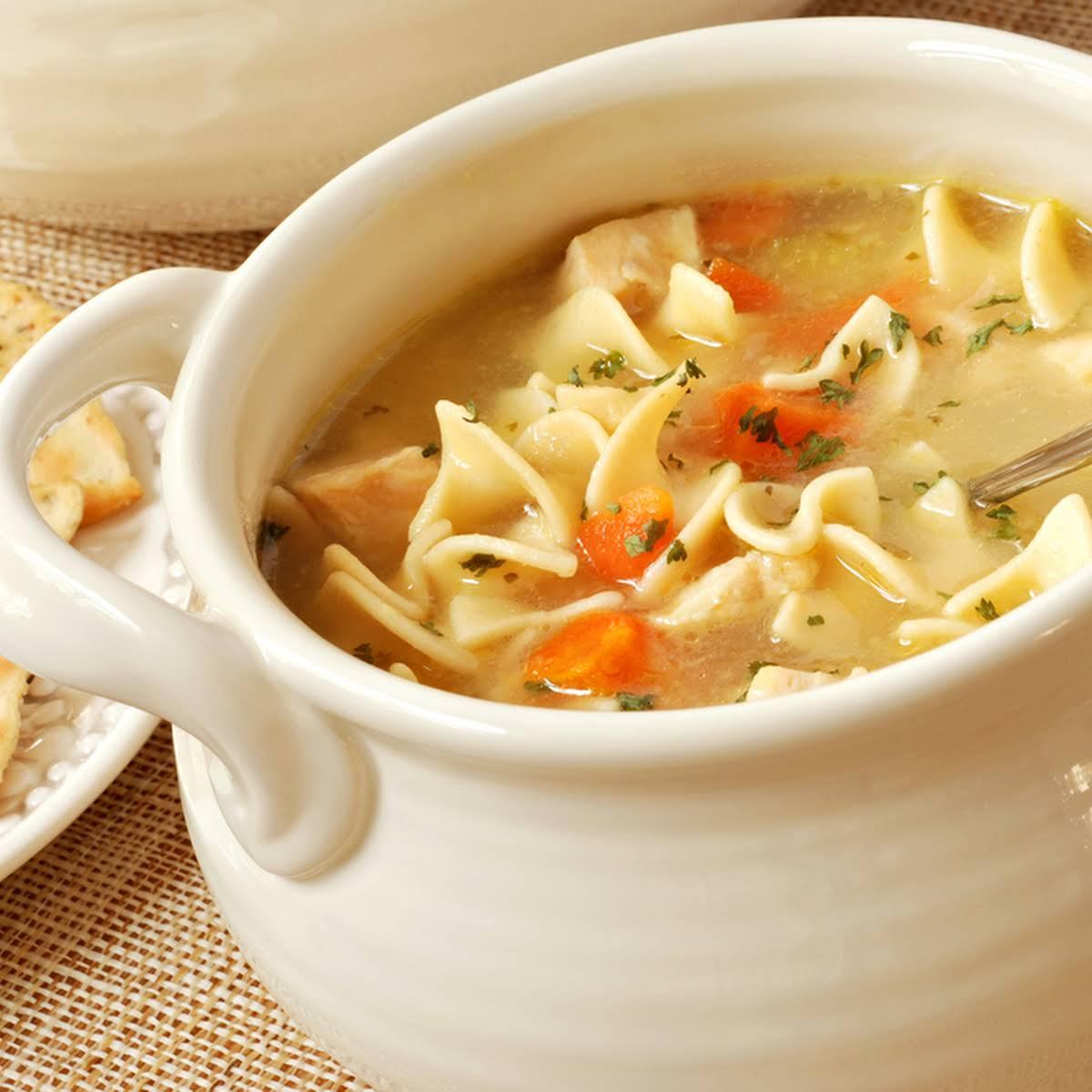Quick & Tasty Soup Maker Chicken Noodle Soup