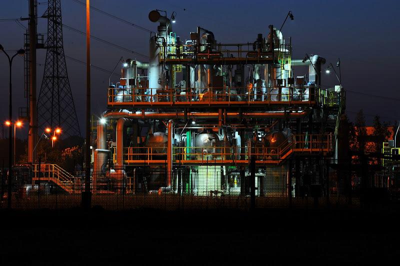 notturno industriale di artu