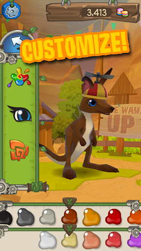 AJ Jump: Animal Jam Kangaroos! - screenshot