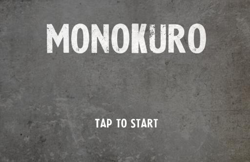 monokuro - stickman run -