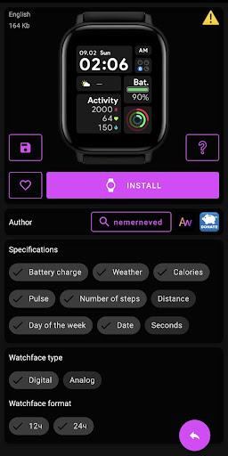Amazfit GTS - WatchFaces für Amazfit GTS-Screenshots 4