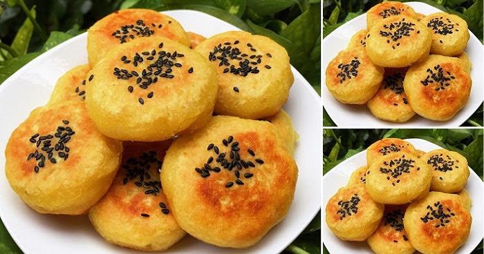 Cách làm bánh khoai lang chiên kiểu mới vàng ươm, ngọt bùi, thơm phức