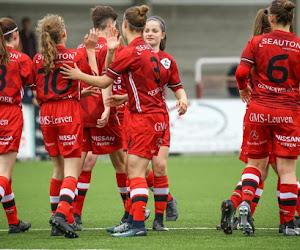 Wat gebeurde er in tweede nationale van het vrouwenvoetbal?