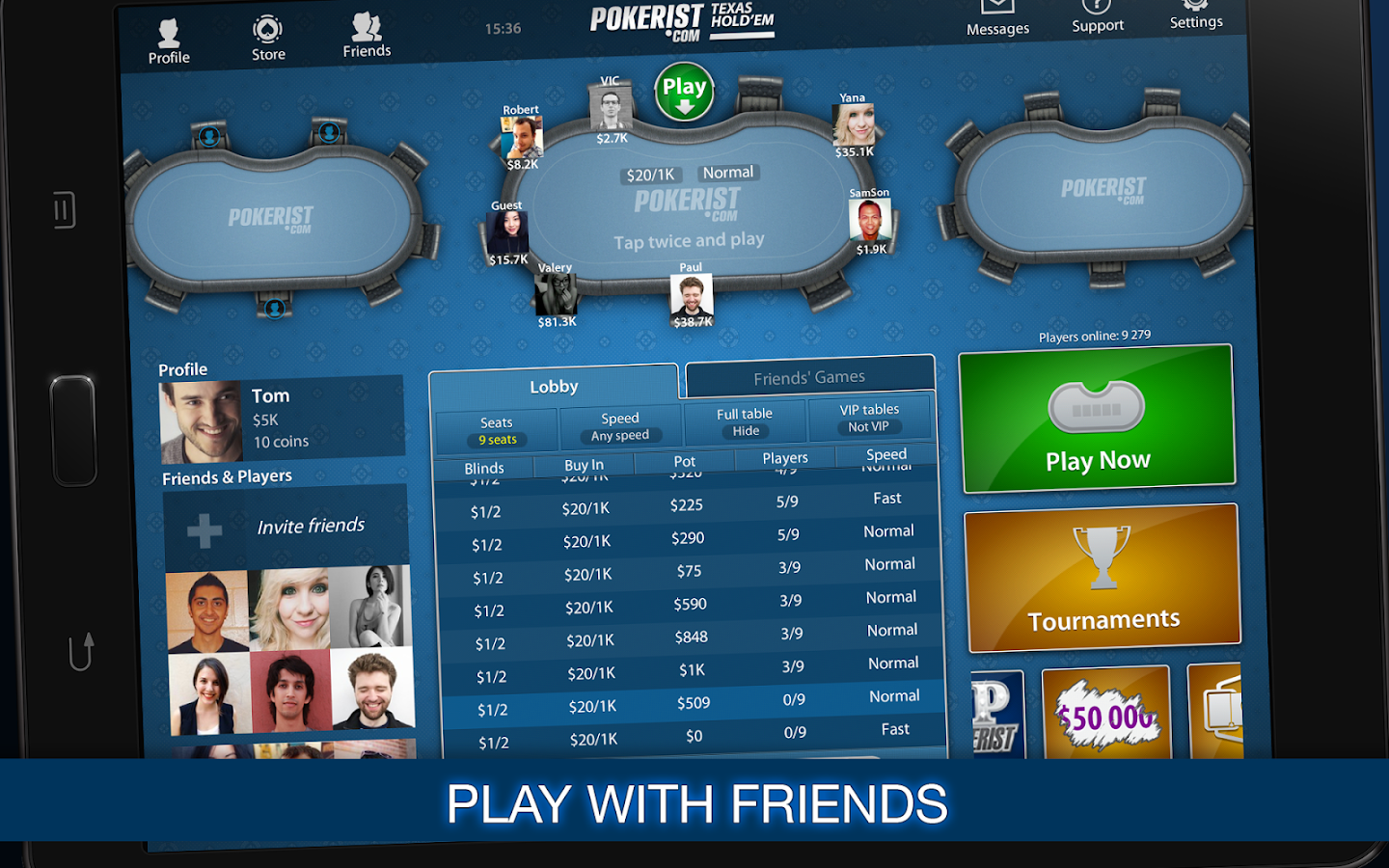 Texas Poker- screenshot
