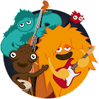 Monsterband Jeu musical enfant icon