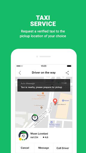 LINE MAN: Taxi, Food, Postal Apk apps 3