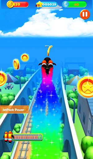 Ninja Subway Surf: Rush Run In City Rail screenshot 2