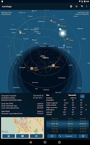 Astrolapp Planets and Sky Map Aplicaciones para Android screenshot