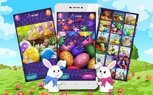 Jigsaw Puzzles 🐇 Easter Games- screenshot thumbnail