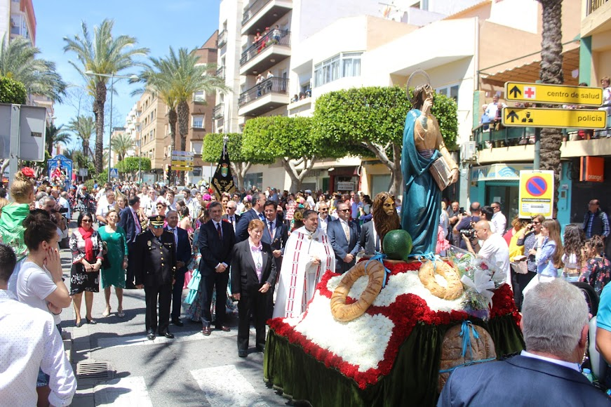 Procesión-romería de las Fiestas de San Marcos 2019
