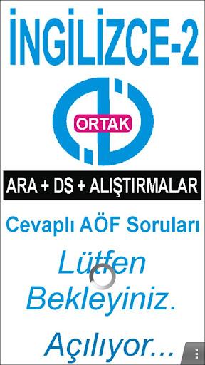 AÖF İNGİLİZCE-2