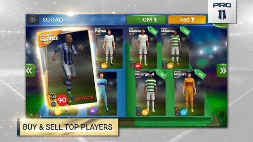 Pro 11 - Soccer Manager Game apkmr screenshots 3
