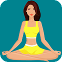 Yoga for weight loss - lose weight program at home icon