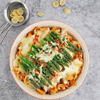 Orecchiette with olive, capers & chili, featuring Barilla Pasta & Sauce.