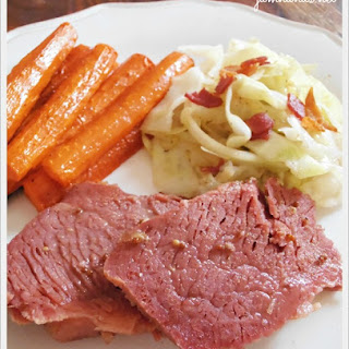 Brown Sugar Glazed Corned Beef