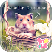 Cute Theme-Hamster Cuteness-