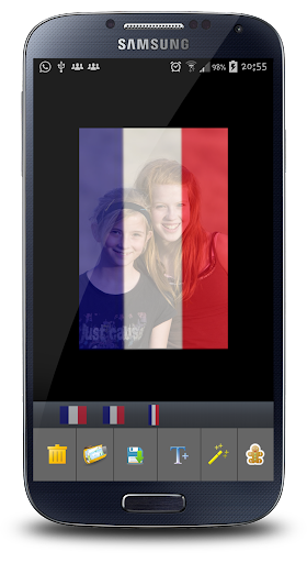 French Flag Profile Picture HD