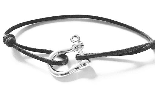 Bracelet manille en argent