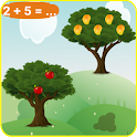 Kids numbers and math Plus icon