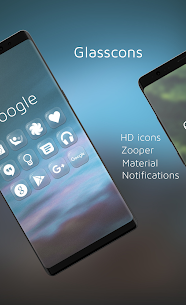 Glasscons – Icon pack v1.1.6 Patched 4