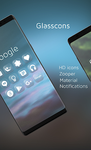 Glasscons - Icon pack