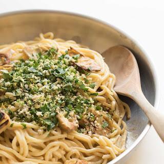 Lemon Spaghetti with Artichokes.