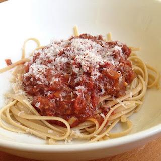 Nana's Spaghetti Sauce.
