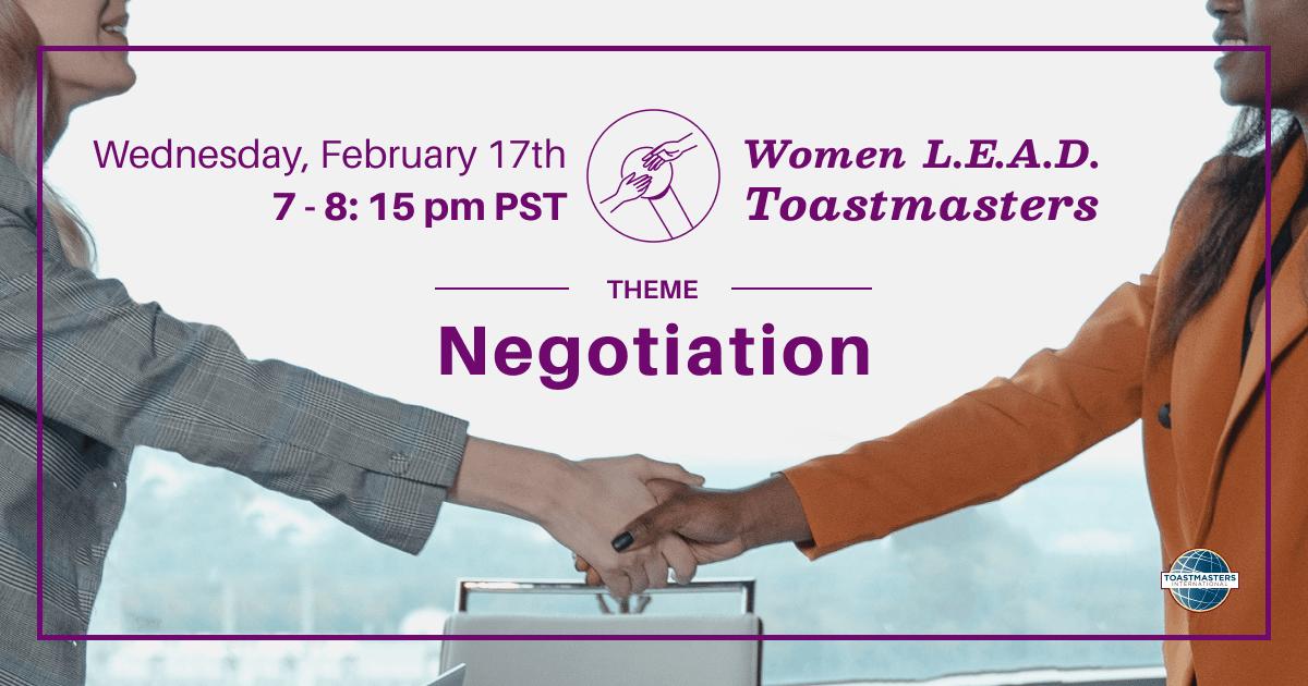 , Negotiation