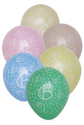 Sifferballonger, nr 6