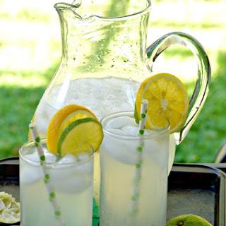 Refreshing Lemon-Limeade.