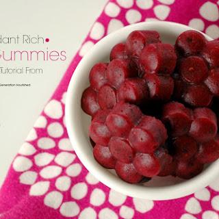 Antioxidant Rich Berry Gummies Recipe