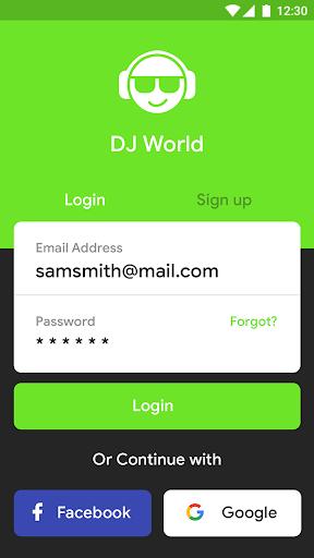 DJ World screenshot 1