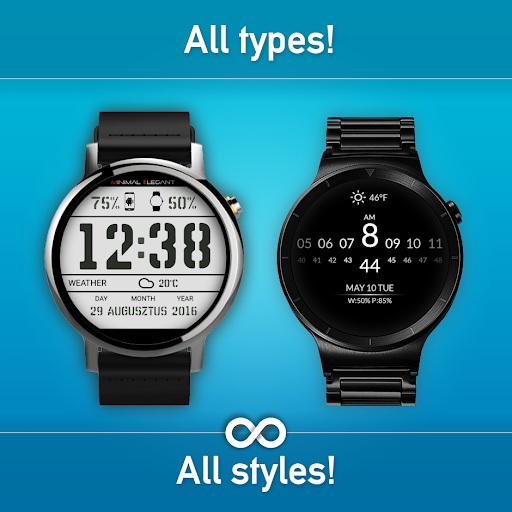 Download Watch Face - Minimal & Elegant for Android Wear OS MOD APK 7