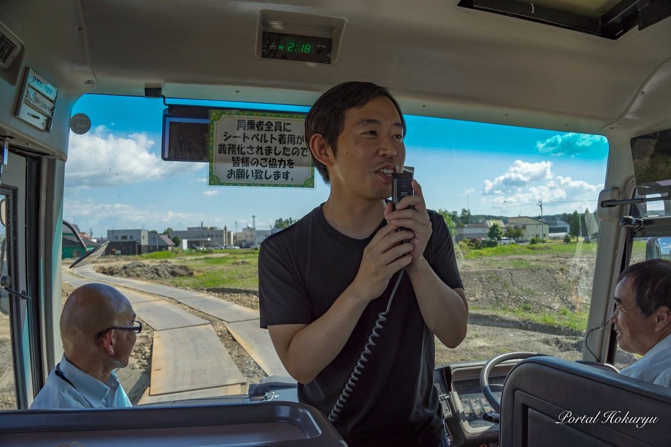 隈研吾都市設計事務所・田口誉 主任技師より北竜町立保育所の説明