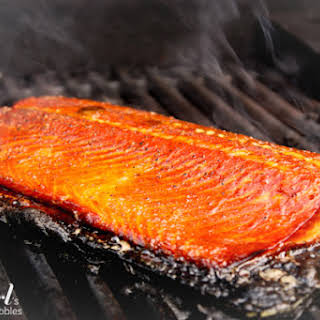 Blake's Sweet and Smoky Grilled Salmon.