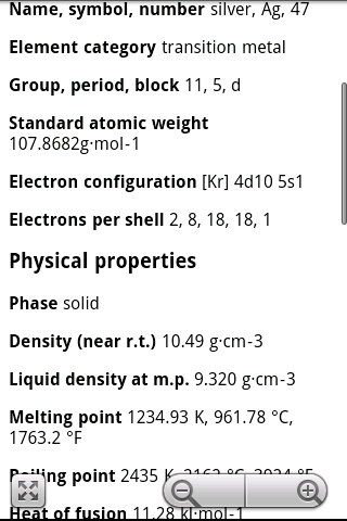 Elements periodic table pro apk download apkpure elements periodic table pro screenshot 4 urtaz Image collections