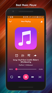 Music Player – Free Mp3 & Audio Player App Download For Android 1