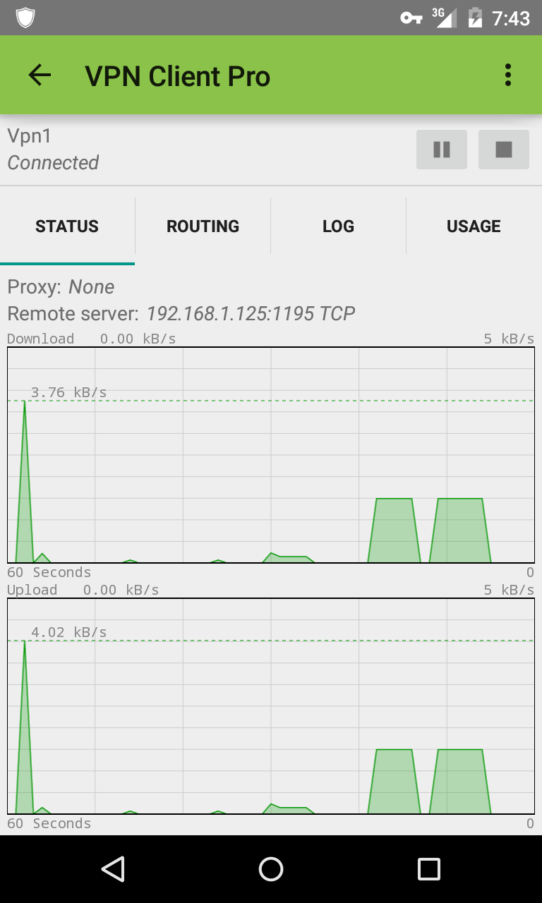 VPN Client Pro Screenshot