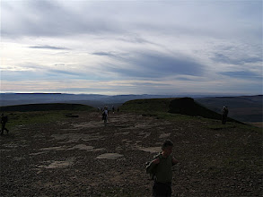 Photo: DSCF4183 - The top of Pen-y-Fan in the sun