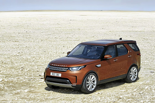 The Land Rover Discovery 5. Picture: NEWSPRESS