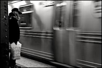 Photo: N Train in passing