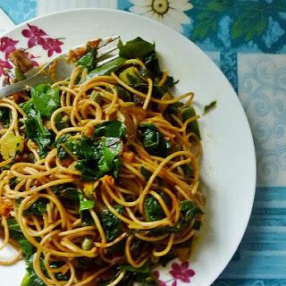 Sauteed Chard Pasta 蔬菜意大利面